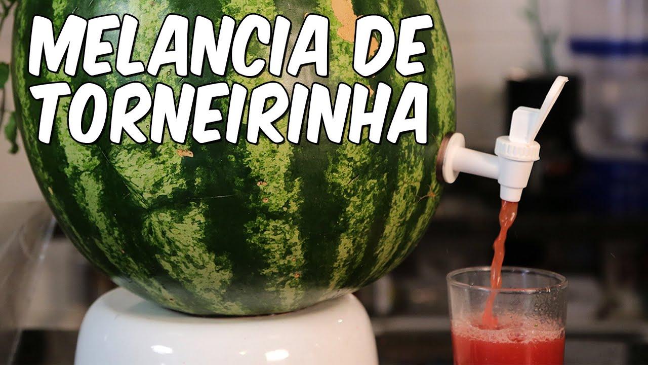 Famosos Como fazer melancia de torneirinha - YouTube OF96