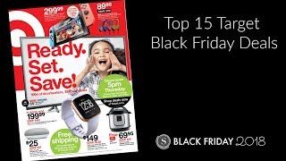 Target Black Friday Ad 2018 | My Top 15 Target Black Friday Deals this year!