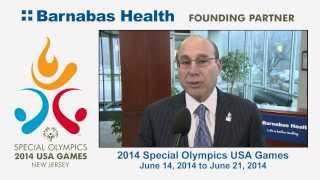 Barnabas Health kicks off the 2014 Special Olympics USA Games