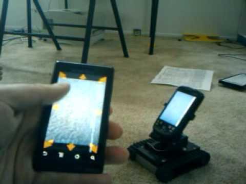 RobotsAnywhere phone to phone
