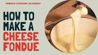 How to make a cheese fondue at home (recipe tutorial)