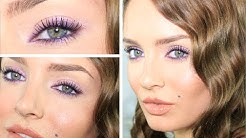 Simple 3-step Glam Purple Smokey Eye! For ALL Eye Shapes & Colours