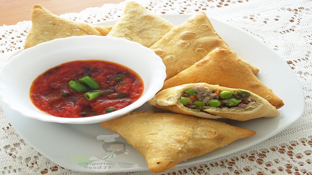 Samosa with meatvegetables filling nigerian food tv youtube samosa with meatvegetables filling nigerian food tv forumfinder Image collections