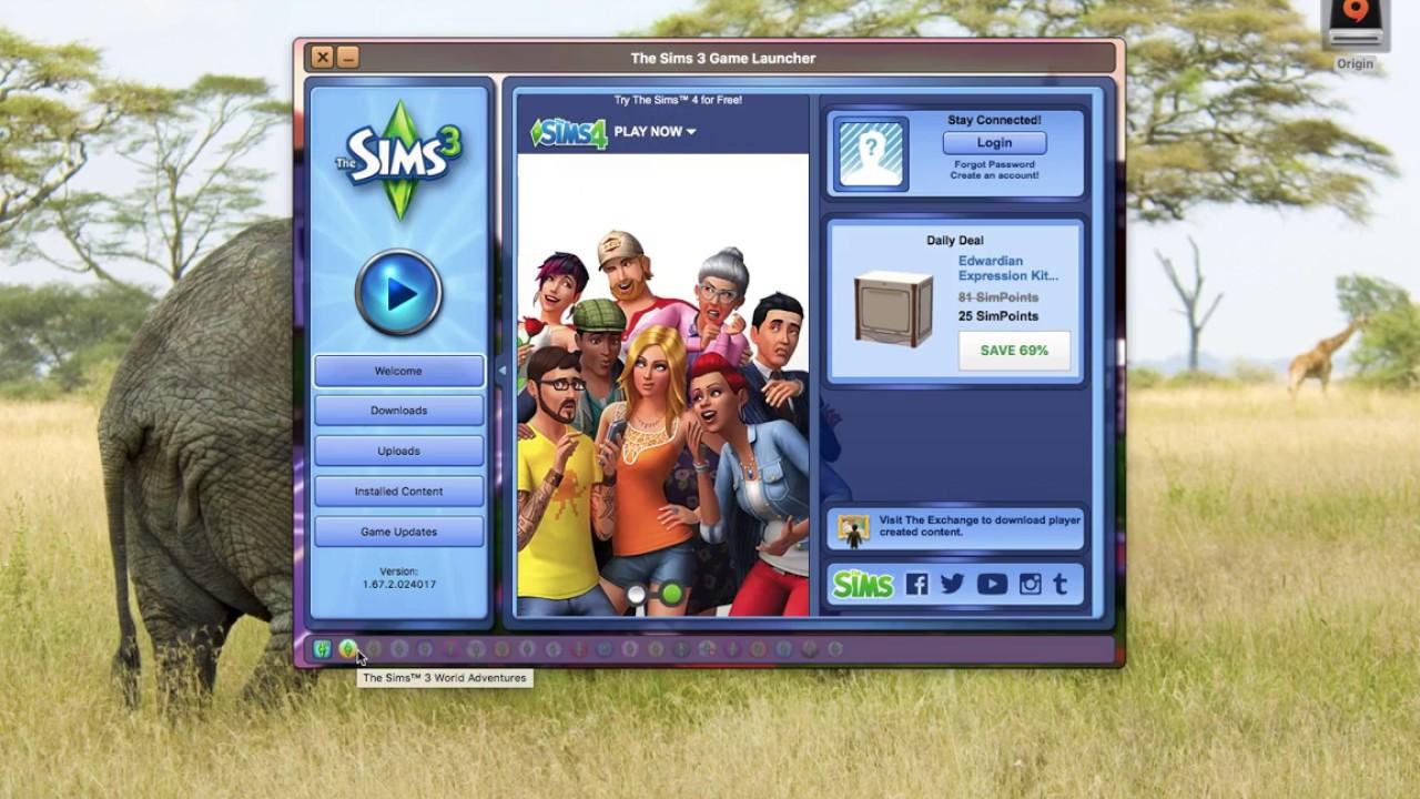 Sims 3 unknown error message and Origin Download in Progress message