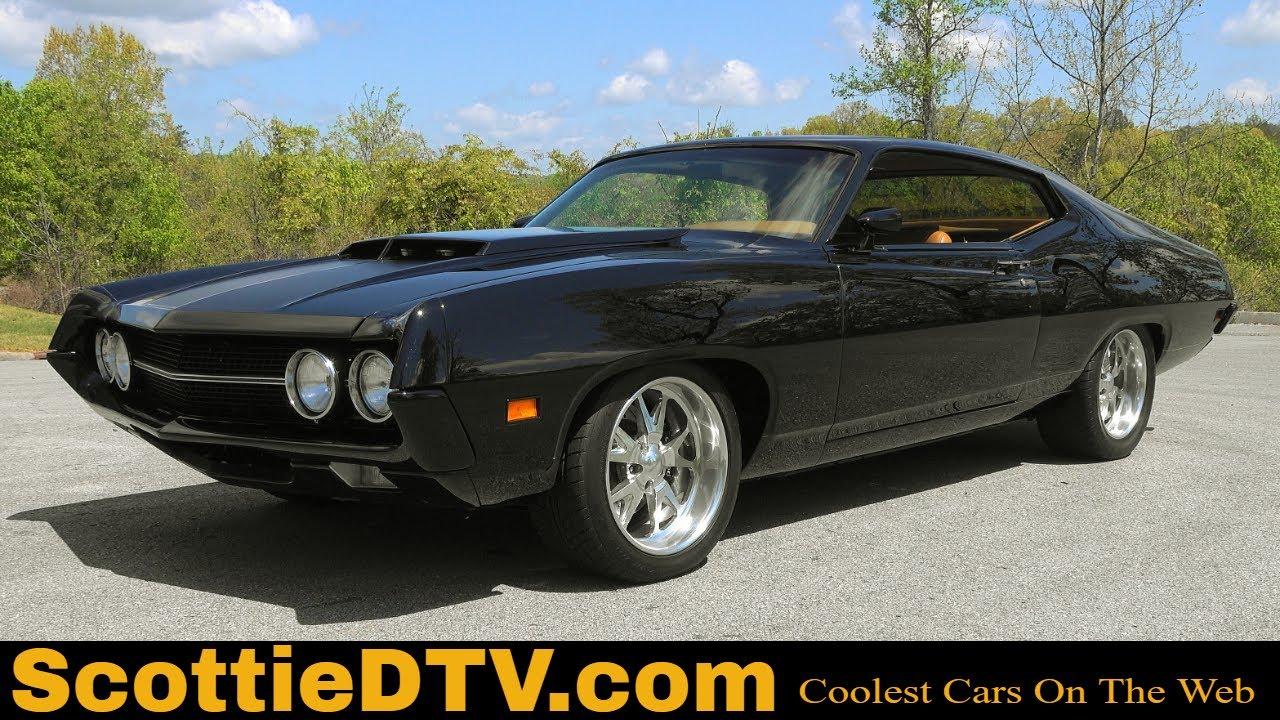 "Download 1970 Ford Torino Fastback ""All In""  Boss 572 Street Machine  Steve Holcomb Pro Auto Custom Interiors"