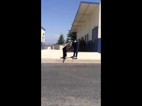 Human gait choreography