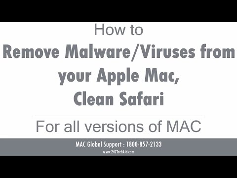 How to Remove Malware Viruses from Your Apple Mac, Clean Safari