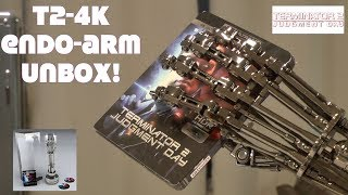 Terminator 2: Judgment Day Endoarm Collector's Edition 4K HD Ultra Blu-ray unboxing 🎥🤩