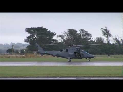 Brand new Air Force NH90 and A109 Helicopters at Ohakea