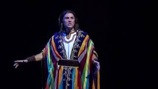 Ryan J Driscoll as Joseph singing When Dreams Come True from the mu...