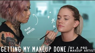 HOW TO DO MAKEUP ON A CLIENT - TIPS + TRICKS | Samantha Ravndahl