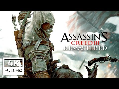 ASSASSIN'S CREED 3 REMASTERED All Cutscenes (4K Game Movie) Ultra HD