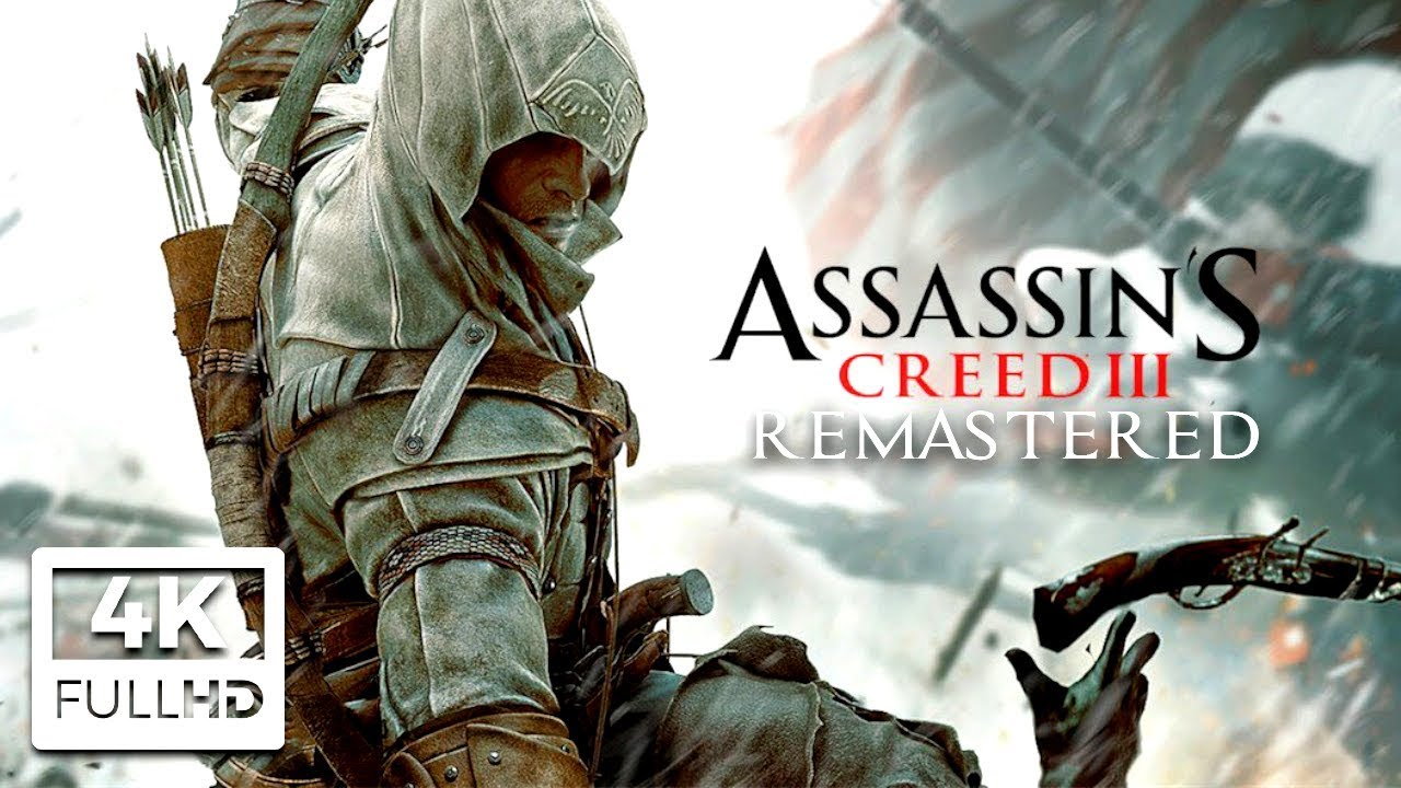 Download ASSASSIN'S CREED 3 REMASTERED All Cutscenes (4K Game Movie) Ultra HD