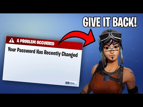 Stealing Renegade Raiders Account And Giving Him 100k Vbucks... (Fortnite)