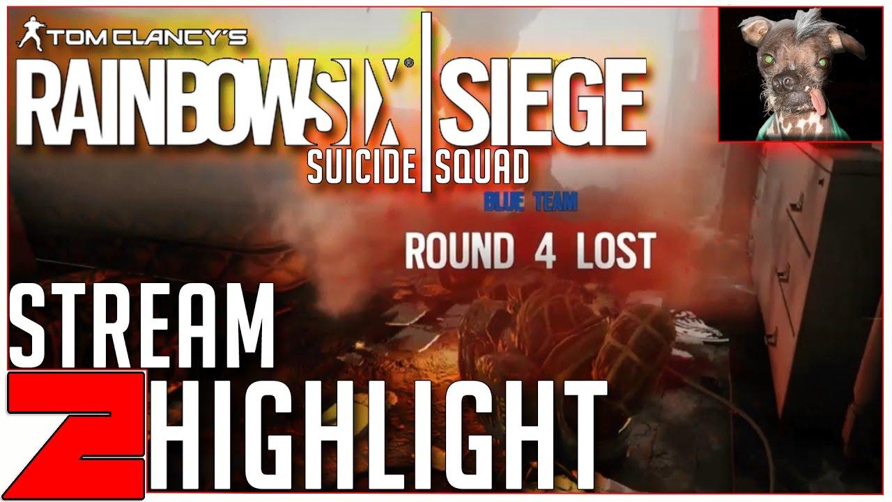 CHOSEN ONE!  Stream Highlight Rainbow Six Siege