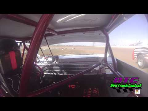Corey Madden In-car IMCA Hobby Stock at thunder Hill Speedway
