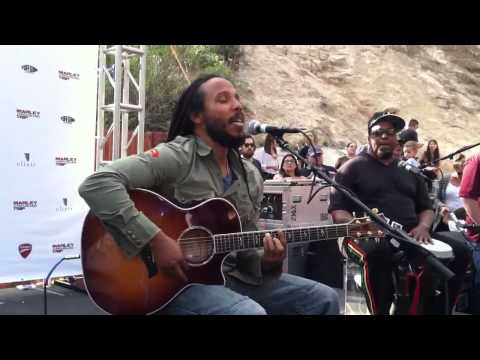 Ziggy Marley live @ Newcomb's ranch 5/10/2013