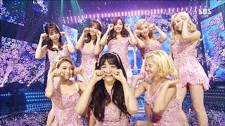 Gambar cover 《Goodbye Stage》 Girls' Generation(소녀시대) - Lion Heart(라이온 하트) @인기가요 Inkigayo 20150913