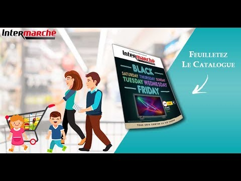 Catalogue Intermarche Black Friday Monsieurechantillons Com Youtube