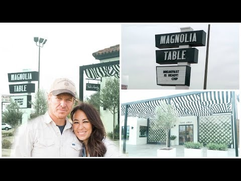 MAGNOLIA TABLE RESTAURANT by Chip and Joanna Gaines | Weekend VLOG