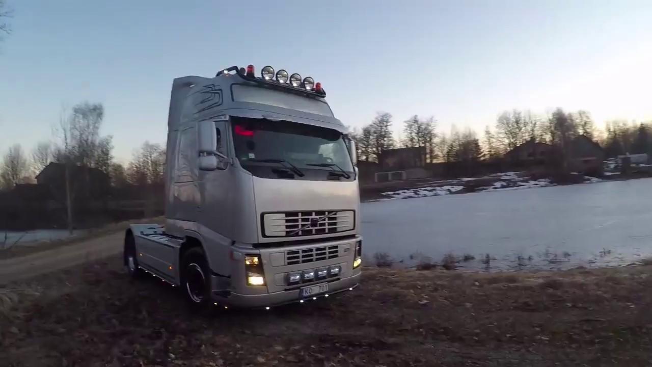 MAN TGX в сервис, показываю Volvo FH13 (ENG subs)