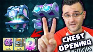Clash Royale - СТИСКАЙТЕ ПАЛЦИ - Chest Opening