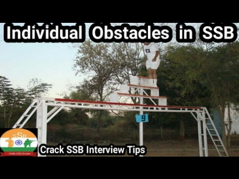 SSB GTO TASK # INDIVIDUAL OBSTACLES  (IO)