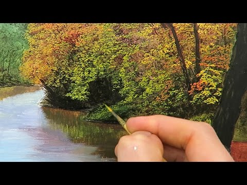 21 How To Paint Autumn Trees Oil Painting Tutorial