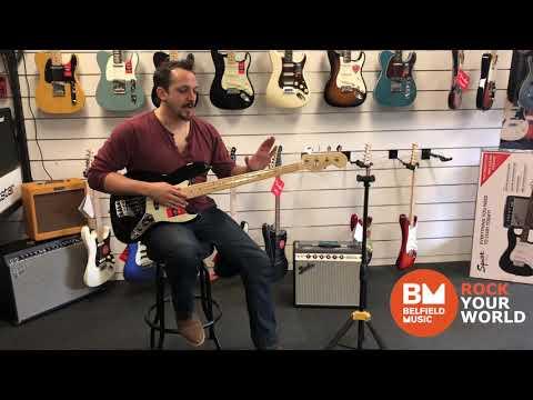 Fender American Professional Jazz Bass Black @ Belfield Music W/ Daniel