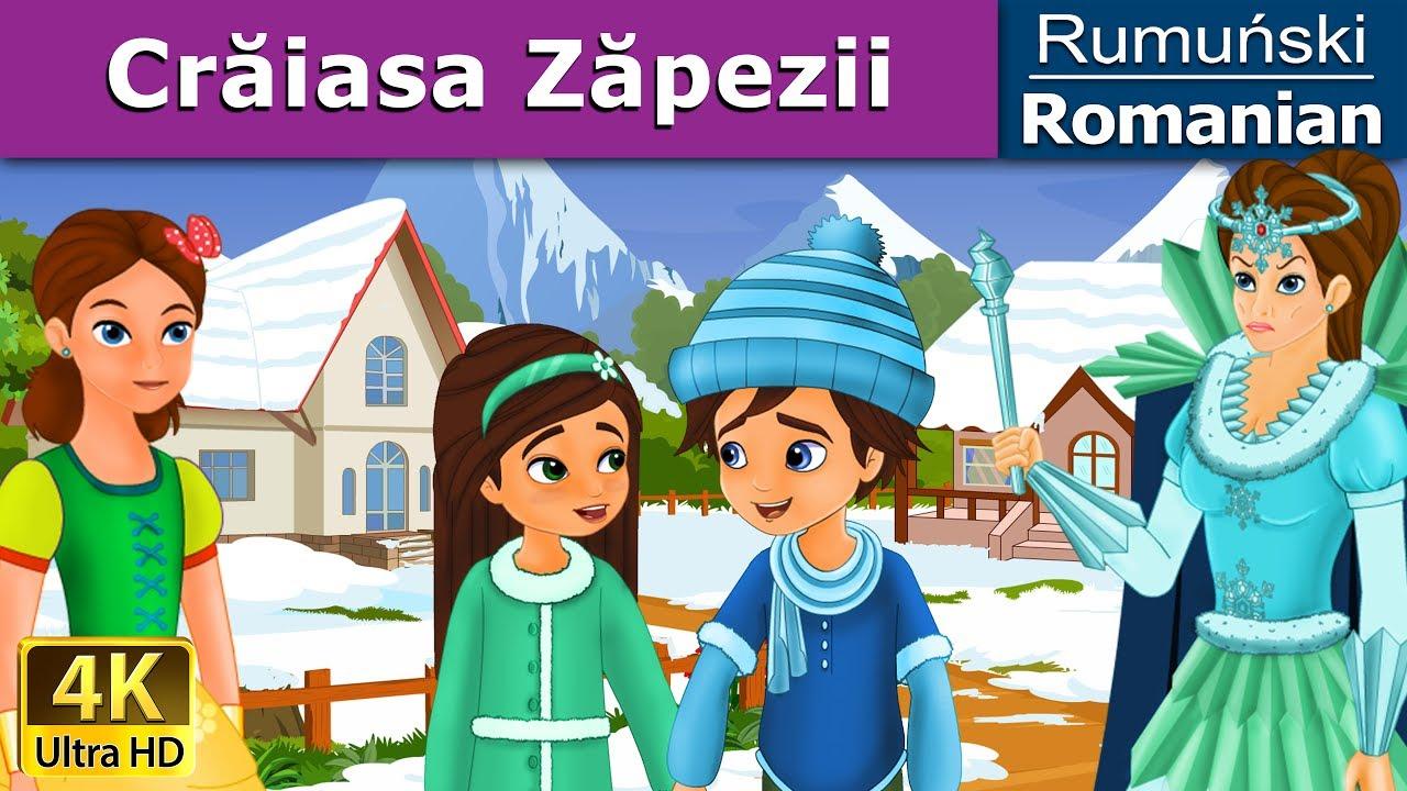 Crăiasa Zăpezii | Povesti pentru copii | Basme in limba romana | Romanian Fairy Tales