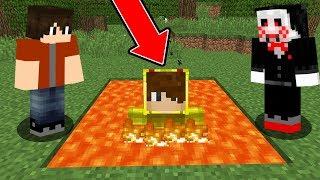 ISMETRG LAV TUZAĞINA DÜŞTÜ! 😱 - Minecraft