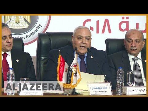 🇪🇬 Sisi narrowly misses 100 percent of vote in Egypt | Al Jazeera English