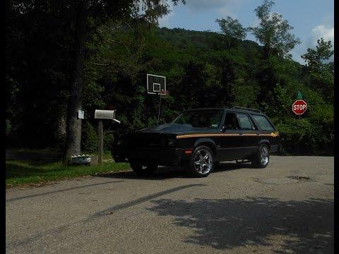 1980 Ford Fairmont Wagon Burnout