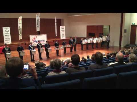 St Ignatius College Drumline Eisteddfod 2016 Melbourne