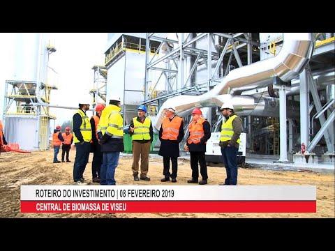 Visita à Central De Biomassa De Viseu Com Inauguração Prevista Para Maio De 2019