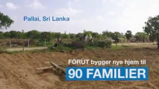 Husbygging til enker på Sri Lanka