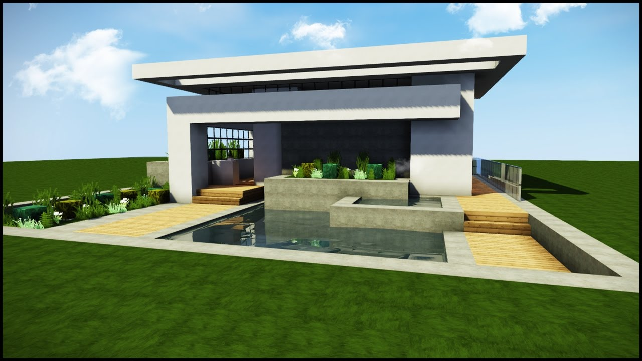 Minecraft: Amazing Modern House 2017 + Download - YouTube on Amazing Modern Houses  id=15996