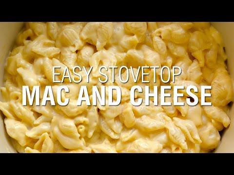 Easy Stovetop Macaroni and Cheese