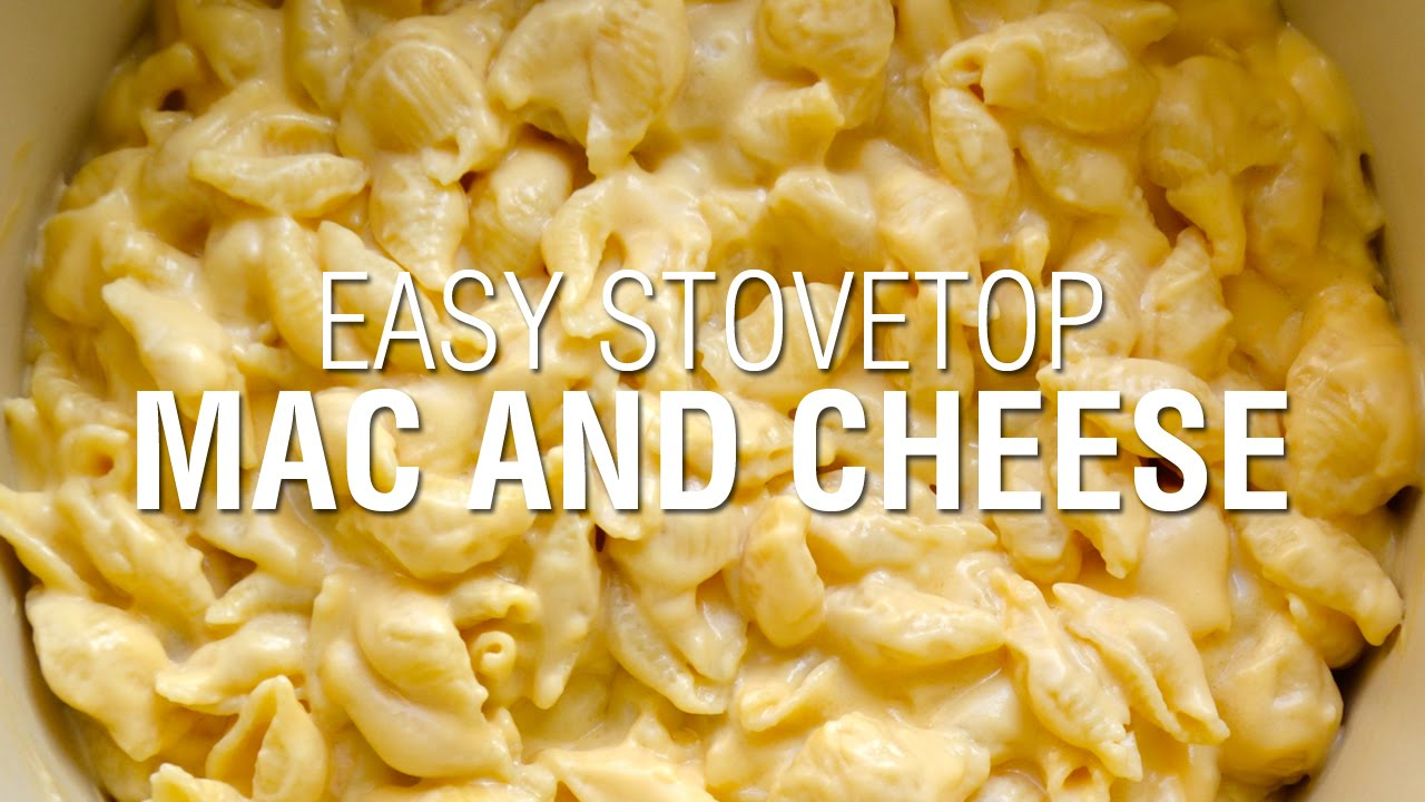 Easy Stovetop Macaroni and Cheese - YouTube