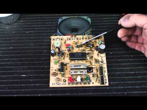 Troubleshooting and Repairing a NuTone LA52 Harmony Musical Chime