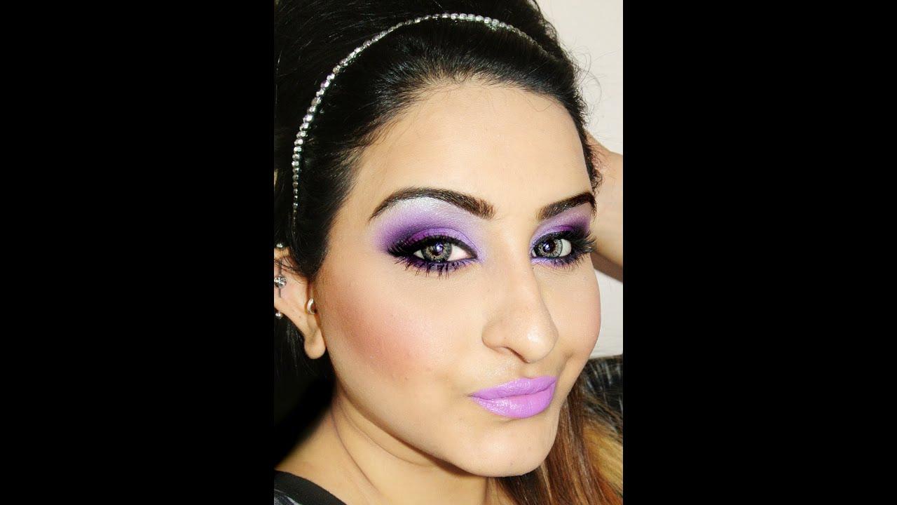 Purple Smokey Eyes (HerWorld Magazine Look)