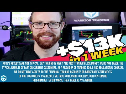 +$13k/wk Trading Parabolic Momentum Stocks!