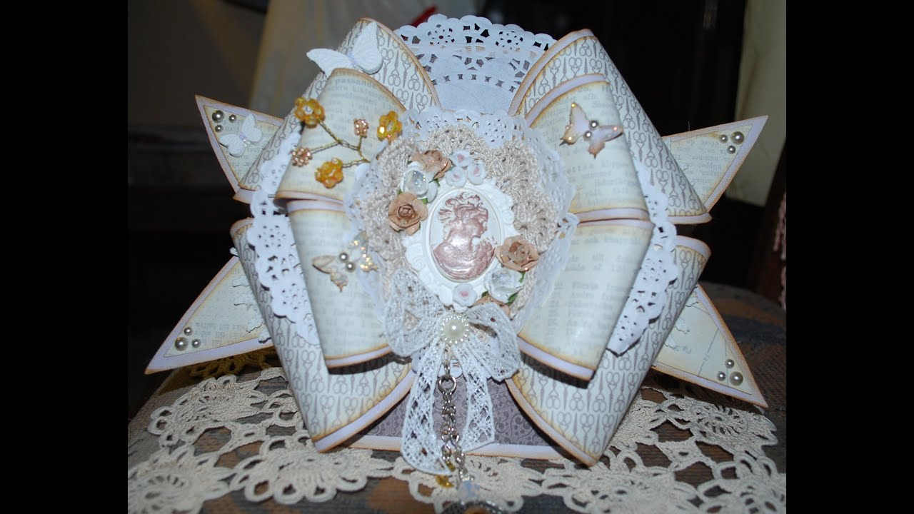 My Bow Cards Vintage Style And Shabby Chic Christmas