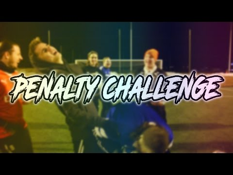 PENALTY CHALLENGE w/ YOUTUBERS!