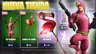 NEW SKIN KING FLAMENCO STORE FORTNITE TODAY JULY 6