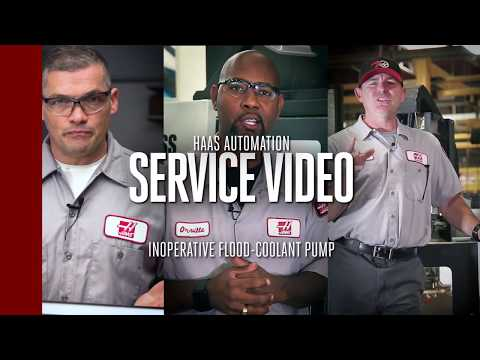 If Your Flood Coolant Pump Isn't Working ... Check This Out! - Haas Automation Inc.