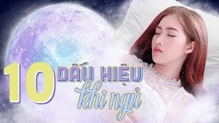 10 Hiện Tượng Lạ Khi Ngủ Mà Bạn Chưa Biết | Meena Channel