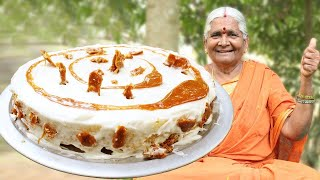 Butterscotch Cake Without Oven | Granny Special Cake Recipe | Caramel Cake | Myna Street Food