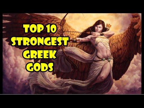Top 10 Strongest Olympian Gods Youtube