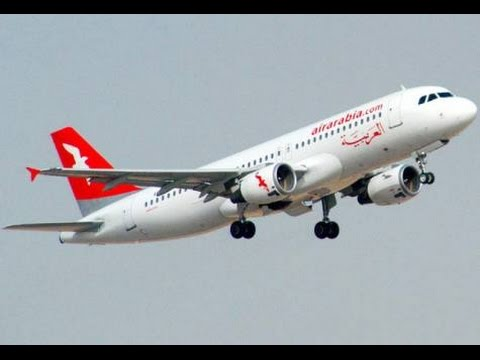 Air Arabia Take Off At Sharjah International Airport (U.A.E)